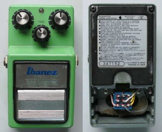Ibanez TS9 Tube Screamer True Bypass