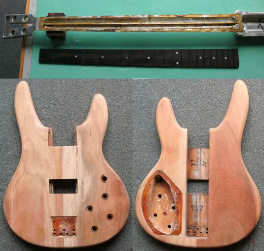 Travis Bean Bass Restoration